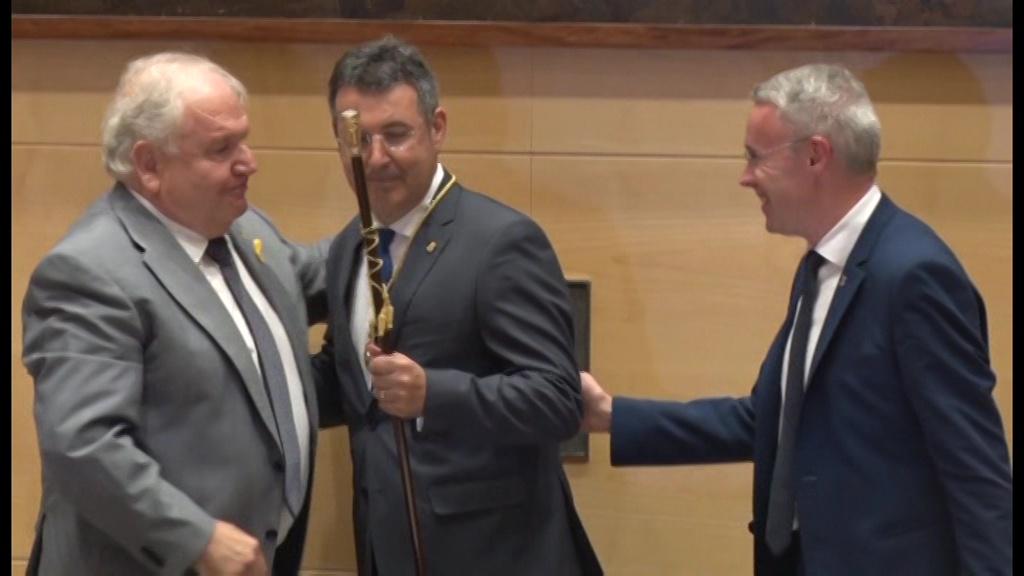 Miquel Noguer és el nou president de la Diputació de Girona
