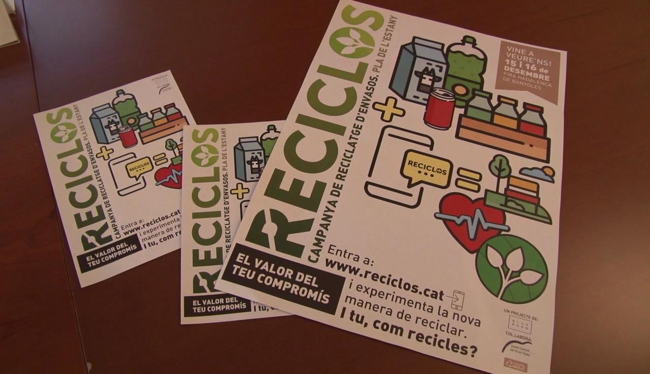 El projecte RECICLOS s'acaba amb un total de 4.434 bosses escanejades de 1.042 nuclis familiars del Pla de l'Estany