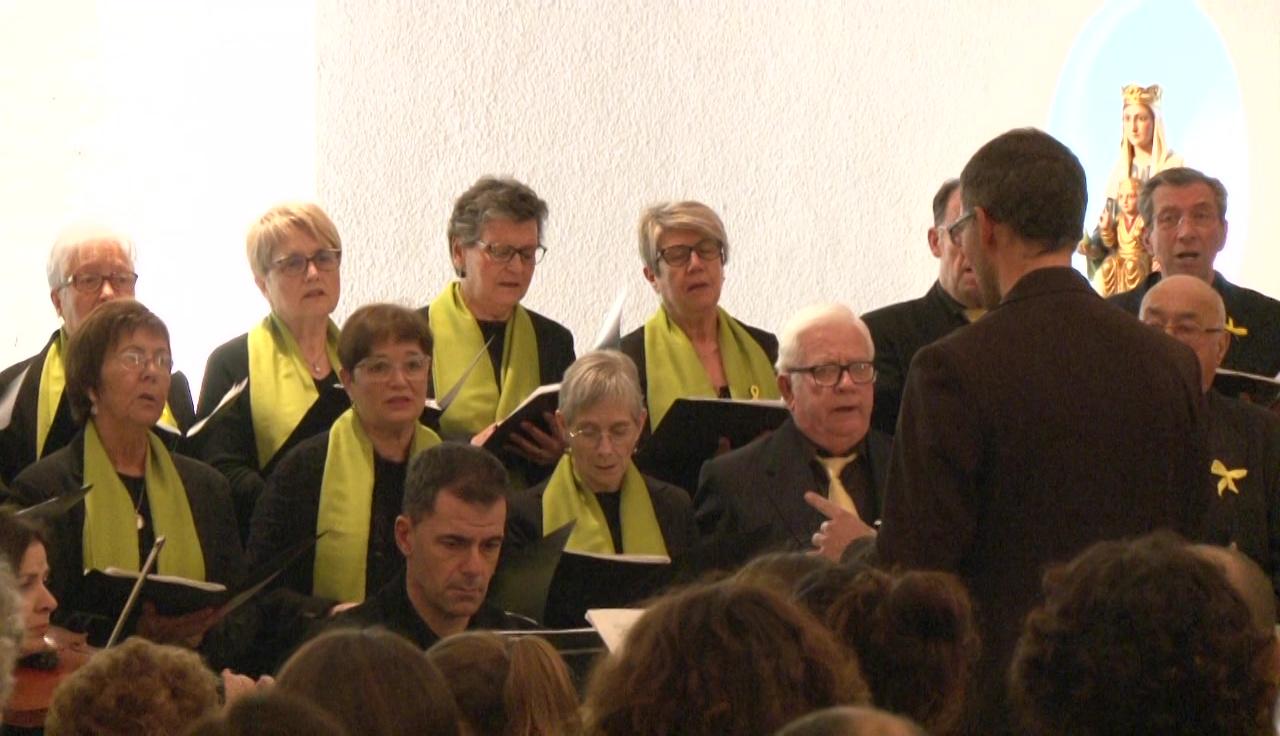 La Coral Les Estunes de Porqueres ofereix un concert de Nadal solidari