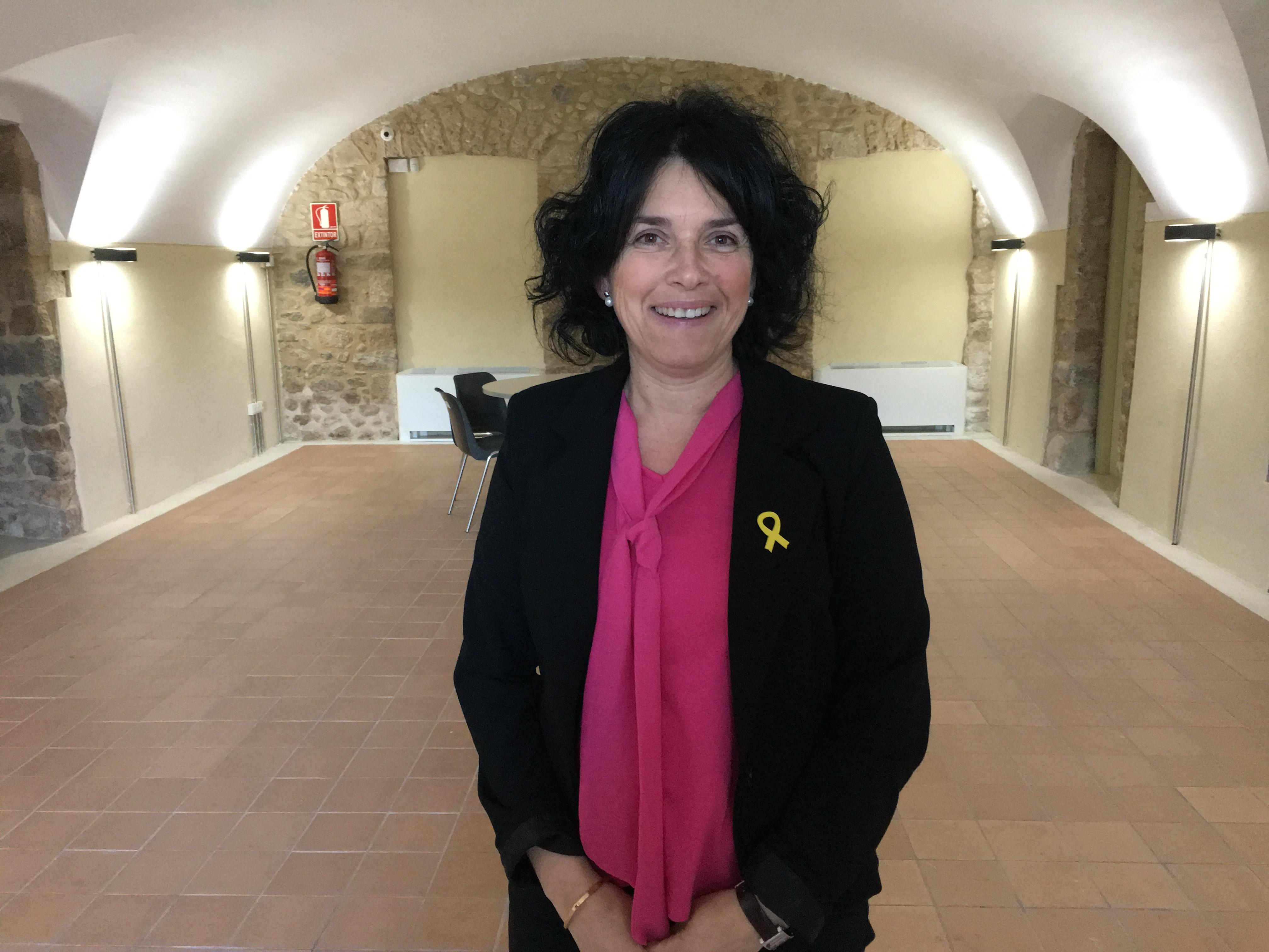 M. Àngels Massafont encapçala la llista de Junts per Catalunya a Esponellà
