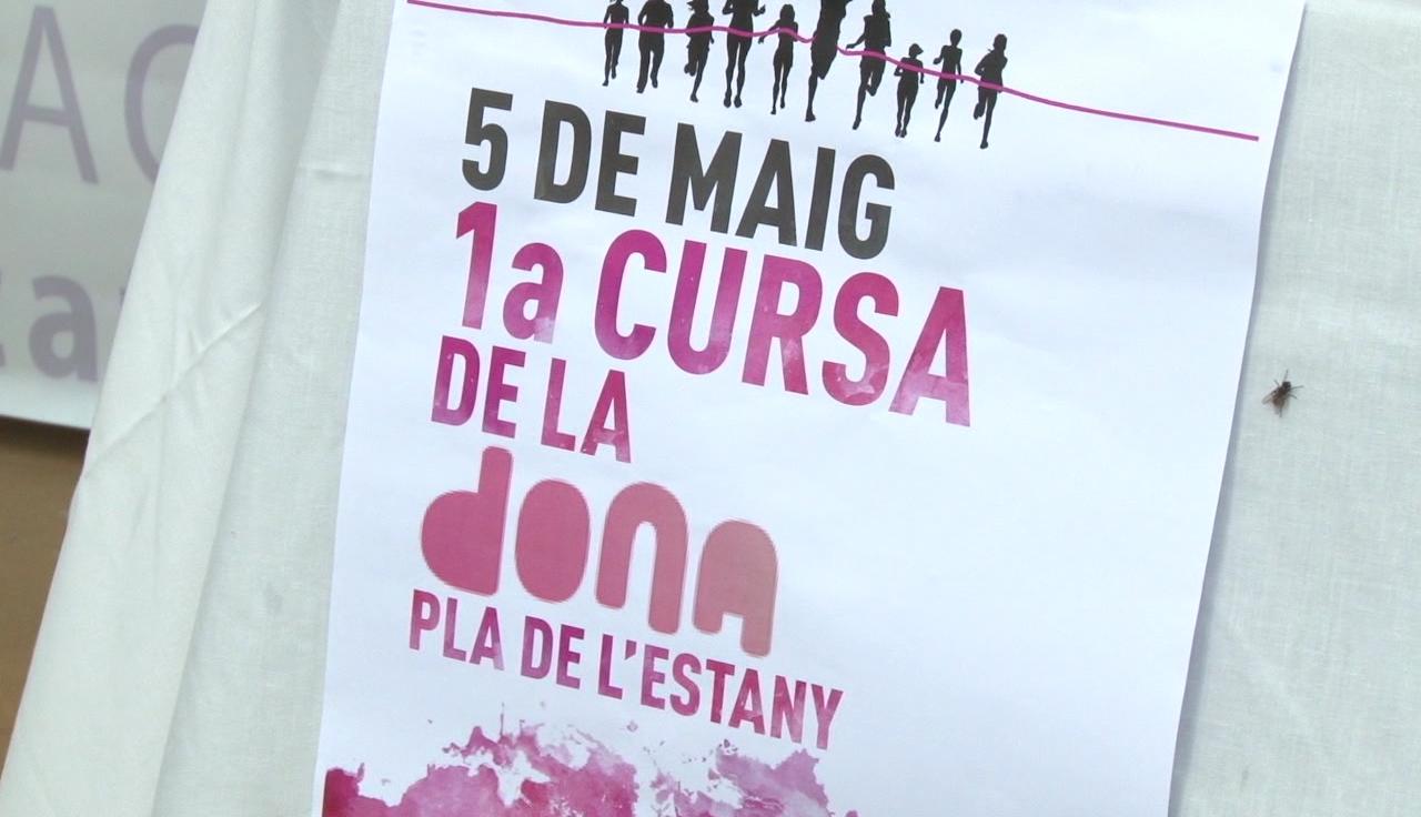La Fundació Oncolliga a Porqueres organitza la 1a Cursa de la Dona del Pla de l'Estany