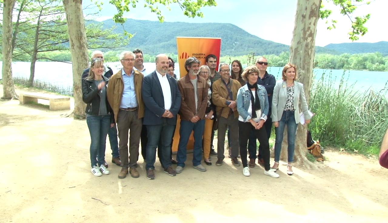 Les candidatures d'ERC al Pla de l'Estany presenten un programa conjunt comarcal