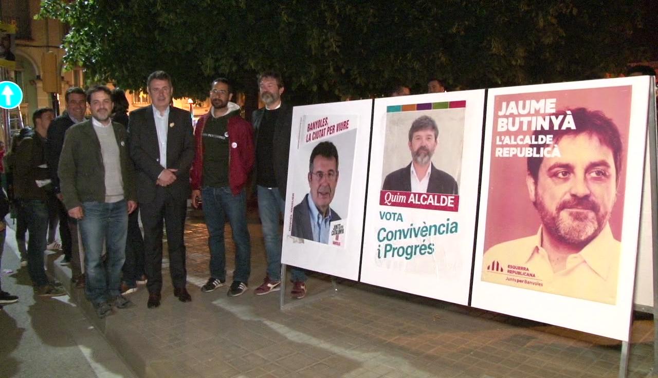 Tret de sortida a la campanya electoral