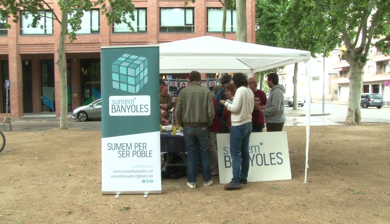 Sumem Banyoles inicia la campanya electoral amb trobades informatives a diversos punts de la ciutat