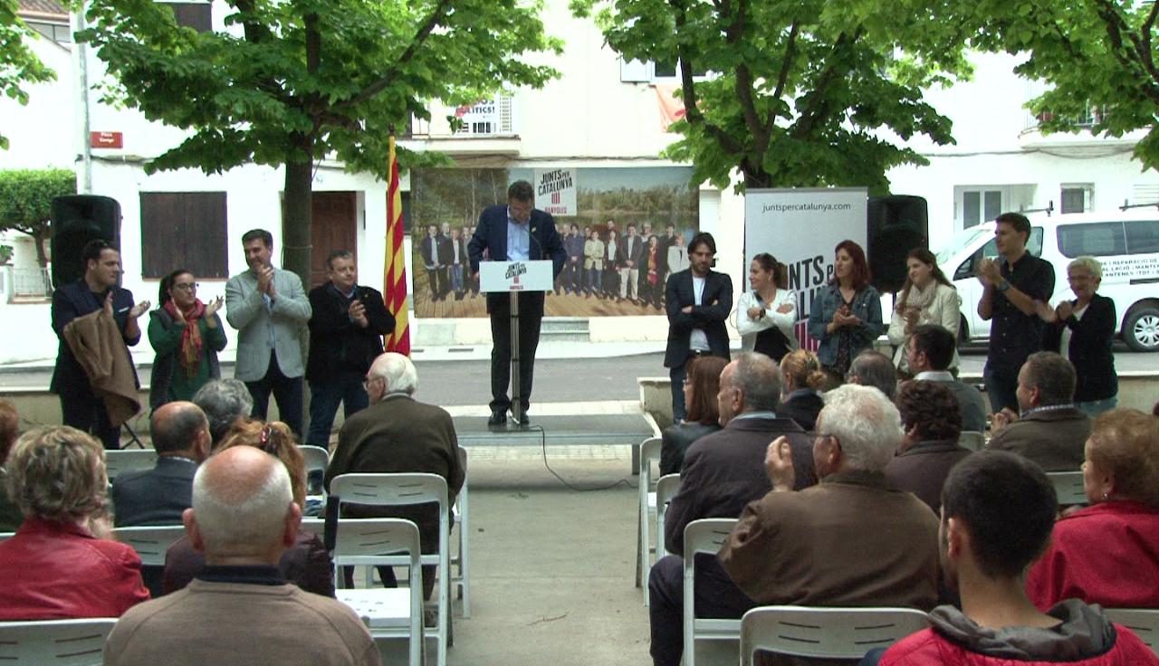 Junts per Catalunya Banyoles inicia la campanya electoral als barris