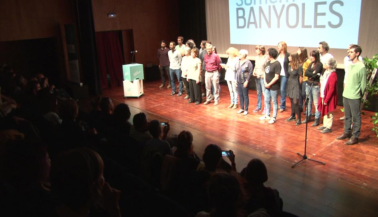 Sumem Banyoles organitza un acte polític per presentar la totalitat del seu programa electoral