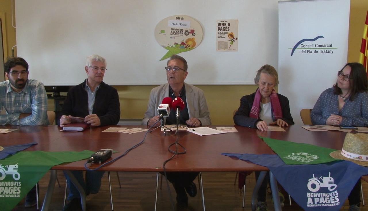 A punt el cap de setmana de Benvinguts a Pagès al Pla de l'Estany, amb més productors que mai