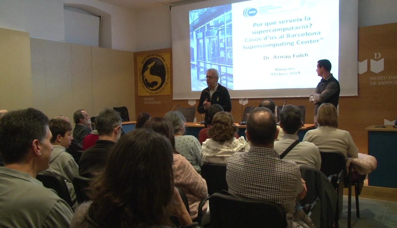 La supercomputació centra la sessió de febrer de Tardes de Ciència