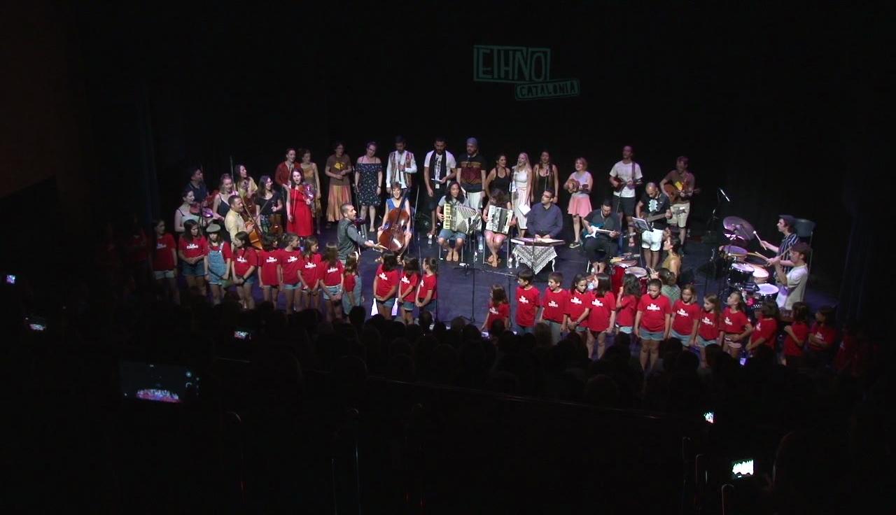 L'organització d'Ethno Catalonia xifra en més de 5.000 els espectadors als concerts del Festival