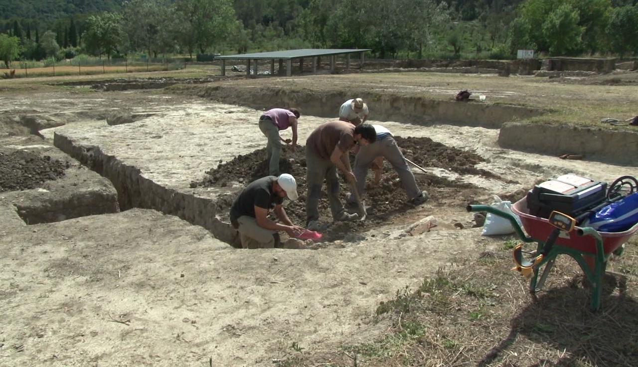 Els arqueòlegs obren un nou sector a Vilauba