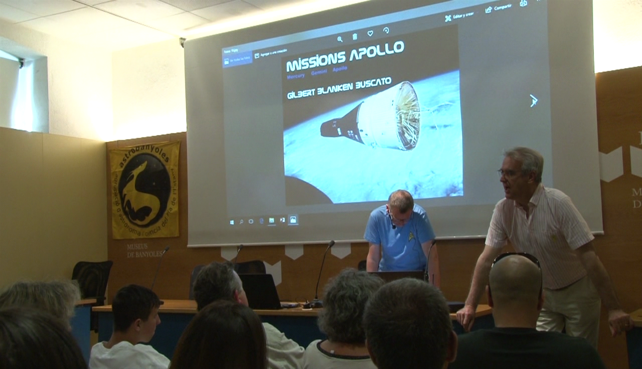Astrobanyoles tanca el cicle Tardes de Ciència amb una xerrada sobre l'home a la lluna