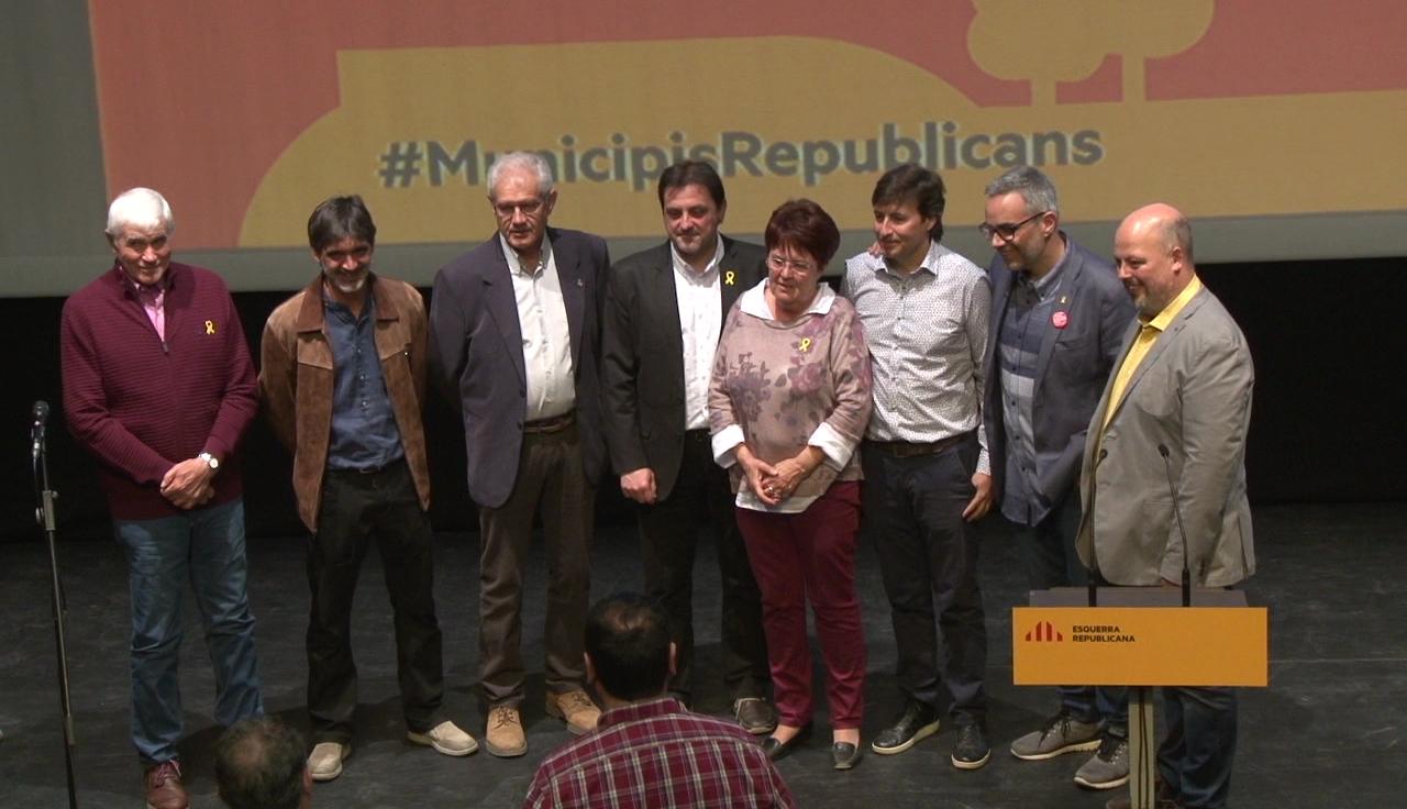 ERC presenta els candidats a les eleccions municipals del Pla de l'Estany
