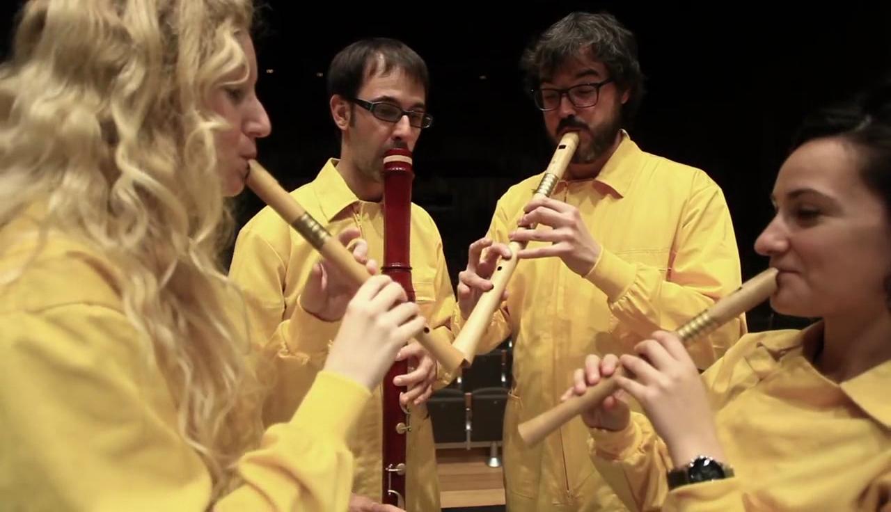 """El quartet Windu porta l'espectacle """"Under Construccion"""" a Banyoles"""