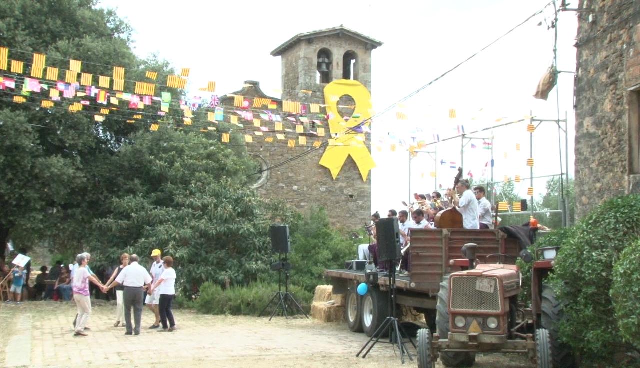 La pluja obliga a suspendre el final de la Festa de Sant Llop de Miànigues